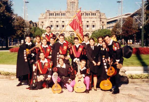 Tuna Universidad Las Palmas de Gran Canaria - Viaje Oporto 1999