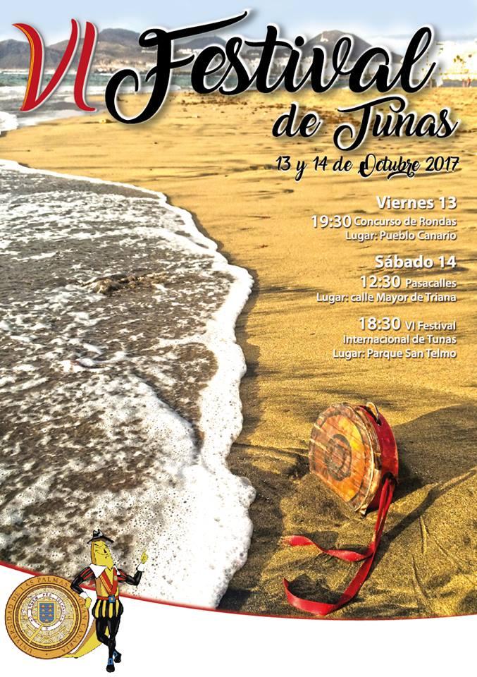 VI Festival de tunas Las Palmas